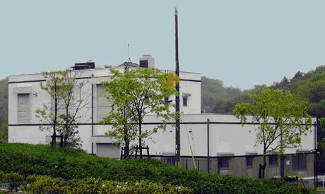 亀岡市営火葬場の外観