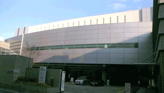 大阪市北斎場の外観