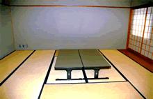 大阪市瓜破斎場の控え室