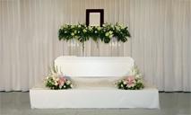 シンプル花祭壇F