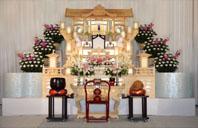 シンシア白木祭壇