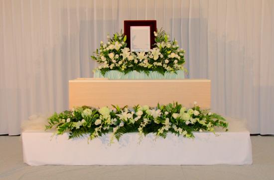 シンプル花祭壇E