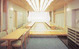 横浜市久保山斎場の和式休憩室