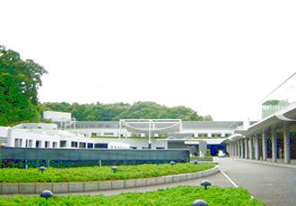 横浜市北部斎場の外観