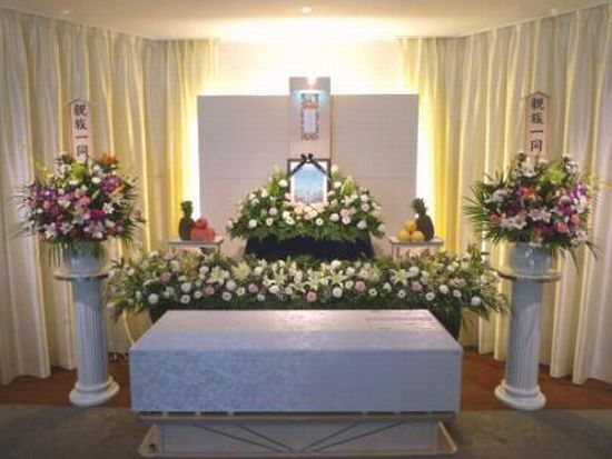 ハートフル花祭壇