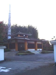 生駒市営火葬場の外観