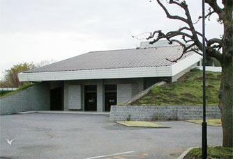 行田市斎場の外観